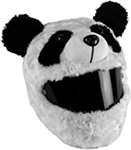 Moto Loot Helmet Cover for Motorcycle Helmet, Fun Rides and Gifts (Cover Only. Helmet Not Included) - Panda