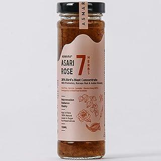Asmara Asari Rose 7 - Anti-Aging & Radiance Drink, Rose, 150 ml (Pack of 40)