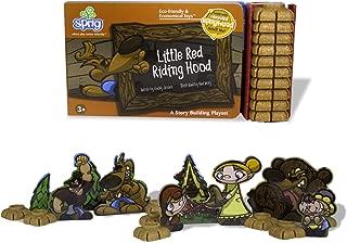Sprig Toys Blocks Little Red Riding Hood Playset