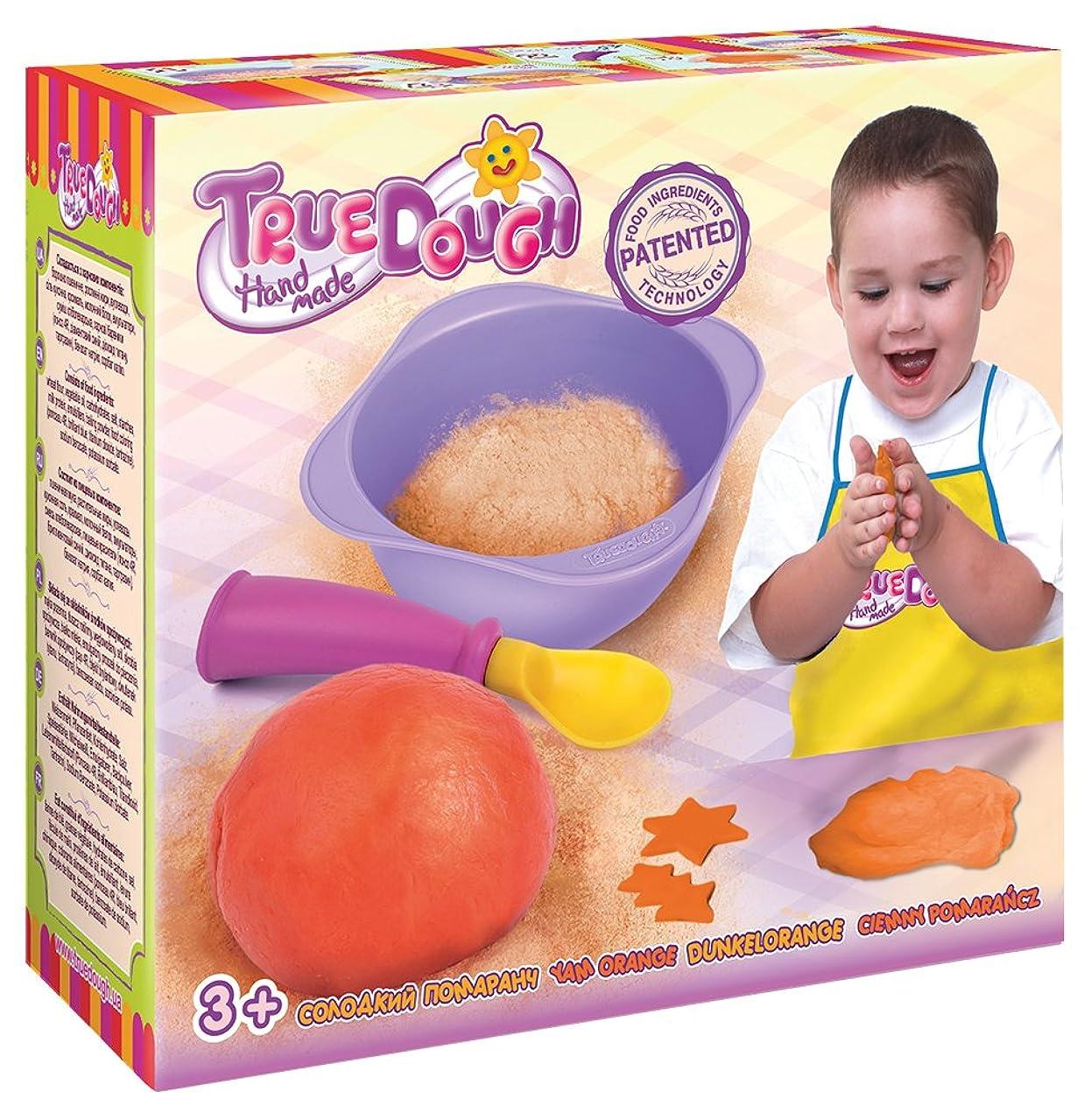 TrueDOUGH 21014 Make Your Own Modelling Dough Single Pack Set, Yam Orange