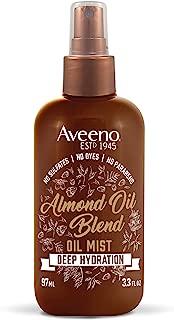 Aveeno Intense Hydration Almond Oil Hair Mist, 3.3 Ounce