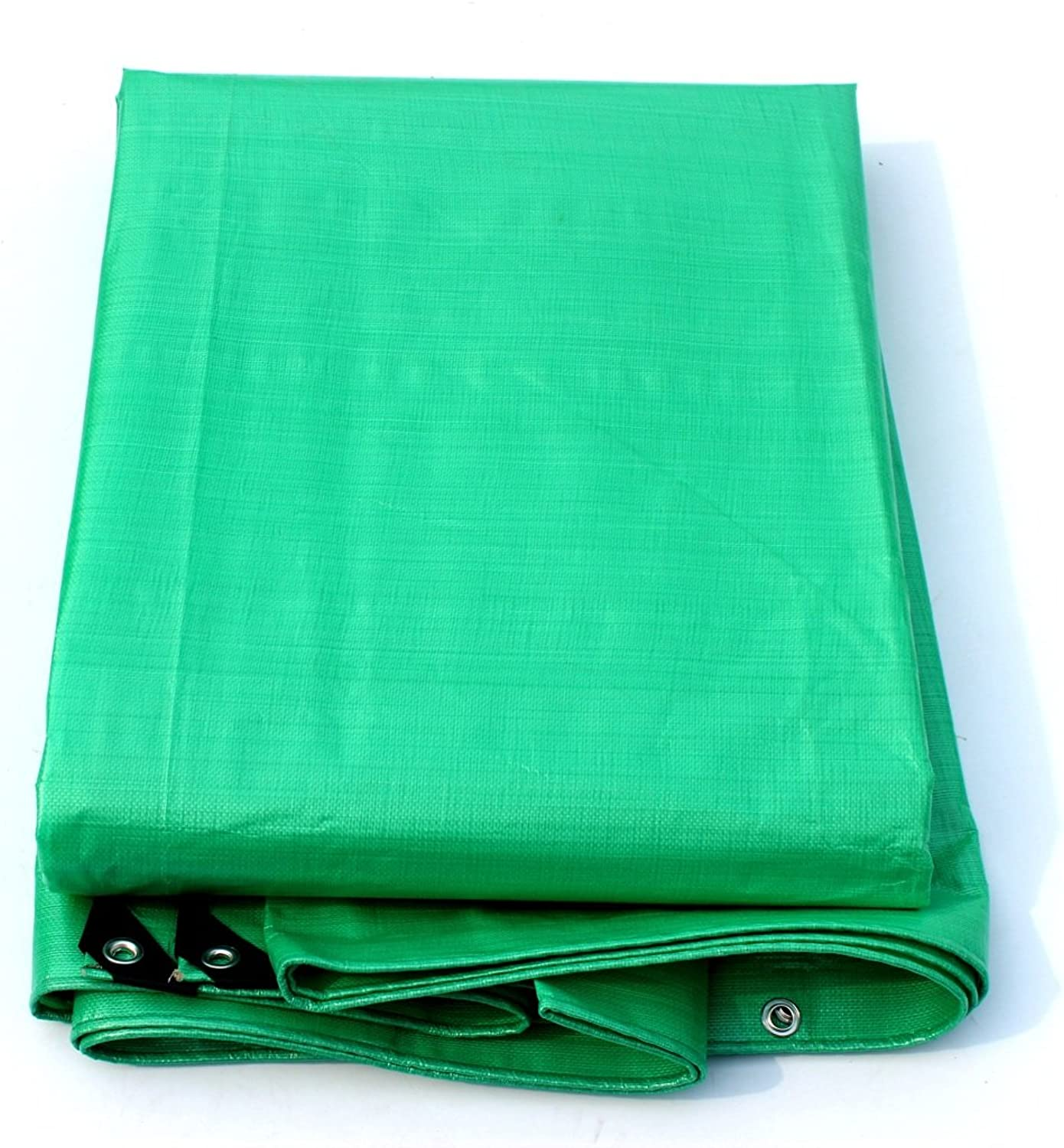NYDZDM Polyethylene Thickening Tarpaulin Waterproof Sun Predection Outdoor Gardening Car Cover Cloth Green (Size   4m x 3m)