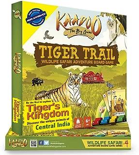 KAADOO Tiger Trail-Central India Edition Jungle Safari Board Game