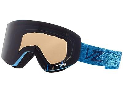 VonZipper Encore (Blue Gloss/Wildlife Silver Chrome) Goggles