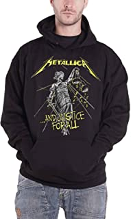 Hoodie and Justice for All Tracks Official Mens Black Pullover