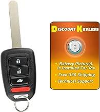 Discount Keyless Entry Remote Control Car Key Fob Clicker For Accord MLBHLIK6-1T