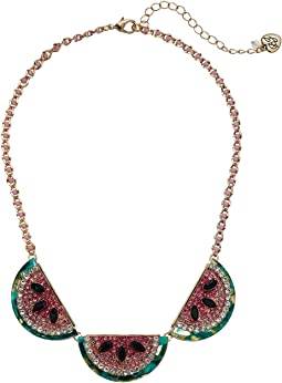 Watermelon Frontal Necklace