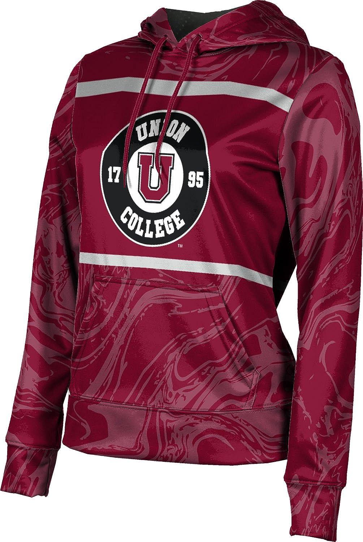 ProSphere Union College Girls' Pullover Hoodie, School Spirit Sweatshirt (Ripple)