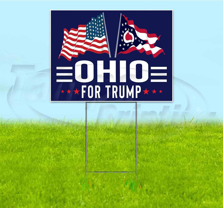 Ohio for Trump Flag 18