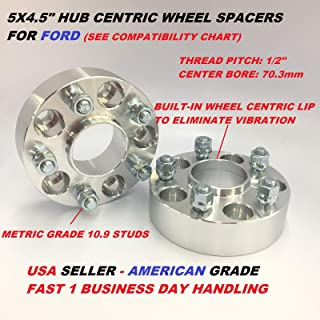 2 Pieces 0.787 20mm Hub Centric Wheel Spacers Bolt Pattern 4x4.5 4x114.3 Center Bore 66.1mm Thread Pitch 12x1.25 Studs for Nissan 240sx S13 Sentra Maxima 200sx 280zx