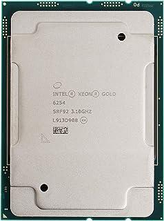 معالج انتل زيون جولد 6254 18 كور 3.10 جيجا هرتز 25 ميجا بايت وحدة المعالجة المركزية CD8069504194501 (معالج صينية صانعي الق...