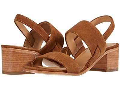 Soludos Farah Block Heel (Walnut) Women