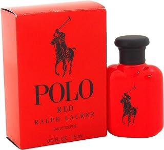 Ralph Lauren Polo Red Mini Eau de Toilette Splash for Men, 0.5 Ounce