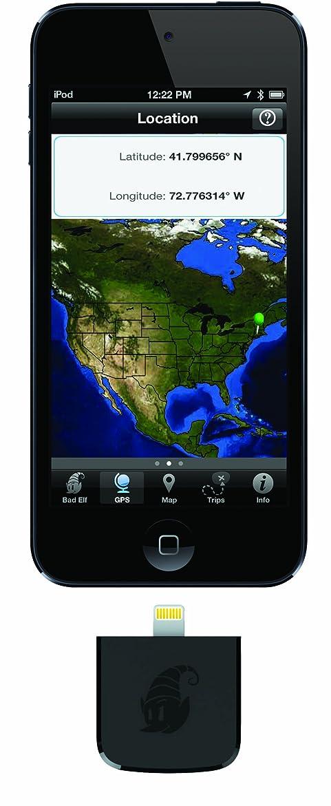 エロチックマグ突然Bad Elf GPS for Lightning Connector GPS レシーバー ライトニングコネクタ for iPod touch, iPhone, iPad【国内正規品】