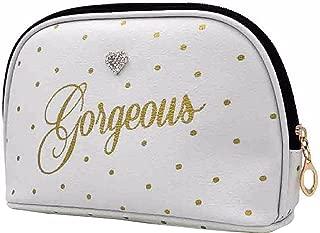 Gorgeous Dot Print Cosmetic Wash Bag (UK Size: One Size) (White)