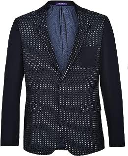 Men's Fully Lined Patterned Fit Blazer