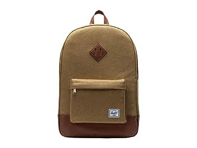 Herschel Supply Co. Heritage (Coyote Slub) Backpack Bags
