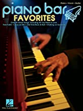 Hal Leonard Piano Bar Favorites Piano/Vocal/Guitar Songbook