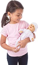 Melissa & Doug Mine to Love Mariana 12-Inch Baby Doll (Romper and Hat Included, Great Gift for Girls and Boys - Best for Babies, 18 Month Olds, 24 Month Olds, 1 and 2 Year Olds)