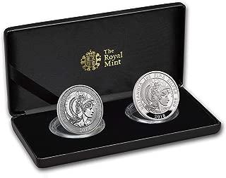2018 silver proof britannia