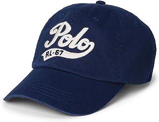 Polo Ralph Lauren Men`s Leather Strap Embroidered Chino Baseball Cap 72e881e926