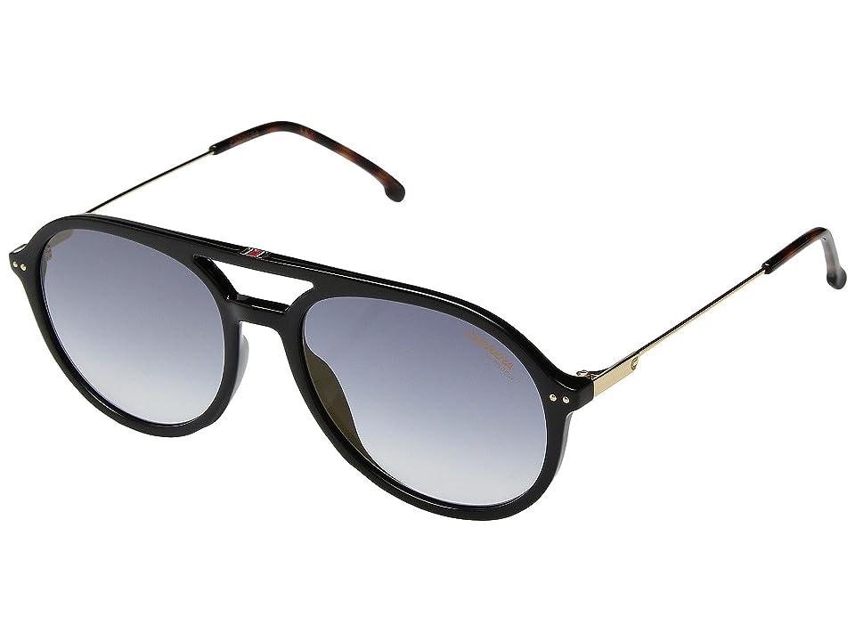 Carrera Carrera 2005T/S (Black/Blue Silver Mirror) Fashion Sunglasses