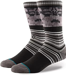 Stance Scenic Crew Socks in Charcoal
