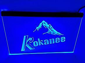jxledsign Blue kokanee Beer Bar Budweiser Led Light Sign