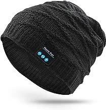 RQN Outdoor Bluetooth Hat Wireless Bluetooth Headphone Headset Earphone with Stereo Speakers (Black Stripe)