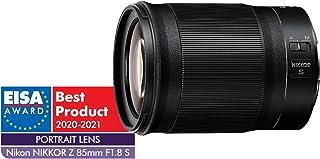 Nikon 20090 Nikkor Z 85mm f/1.8 S Lens, Black