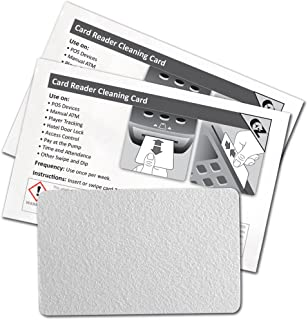 Waffletechnology 2K2-H80B50 Card Reader Cleaning Cards - Flat Cards (50)