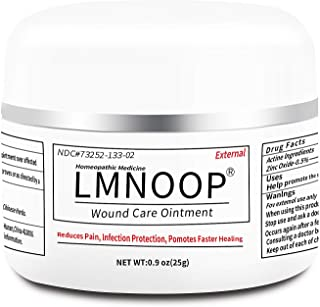 Best Bed Sore Cream, Organic Bedsore Ointment, Bed Sores Treatment, Fast Wound Healing & 24 hr Infection Protection Wound Care Ointment for BedSores, Pressure Sores, Diabetic & Venous Ulcers by LMNOOP Review