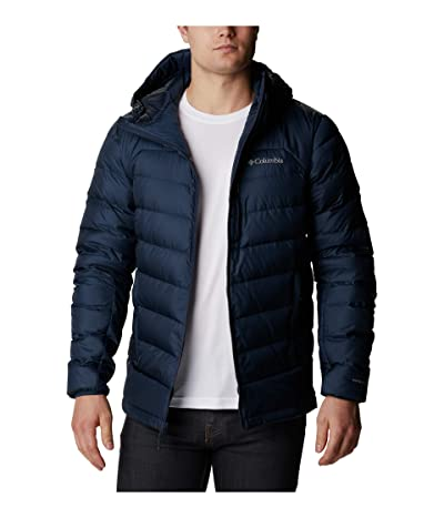 Columbia Autumn Parktm Down Hooded Jacket (Collegiate Navy) Men