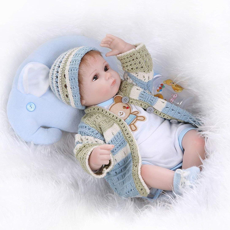 Swiftswan Reborn Babies Silicone Baby Playing Sleeping Accompanying Lifelike Dolls