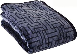 昭和西川 【累計販売実績2,000枚以上 3シーズン毛布】 毛布 ブルー シングル 肌触り なめらか WITH REST ニューマイヤー毛布 約1200g 2230563330308