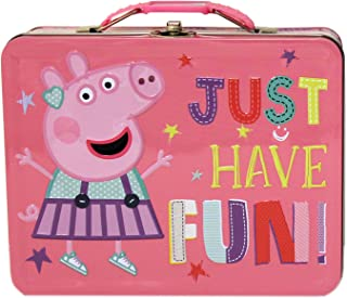 Peppa Pig Tin Large Tin Carry All with Handle