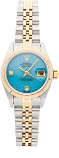Datejust Mechanical (Automatic) Blue/Green Dial Womens Watch 79173 (Certified Pre-Owned)