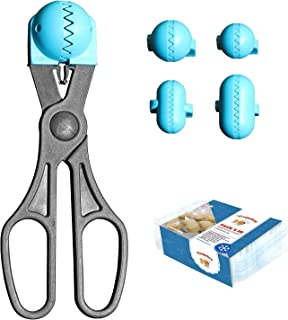 comprar comparacion La Croquetera Pack- Utensilio Multiusos Color Turquesa - 4 moldes Intercambiables para masas + Pack 20 Bandejas conservaci...