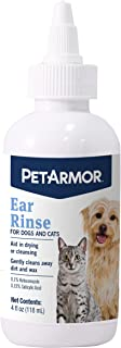 PetArmor Ear Rinse for Dogs & Cats, 4 oz