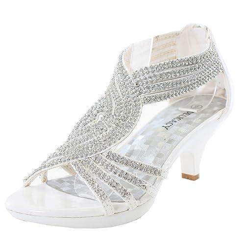 Shoes Women's White Dress: Amazon.com