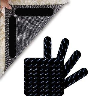 Pinzas de Esquina Antideslizantes Reutilizable und Lavable Bases para Alfombras XUBX 16 Piezas Pinzas para Alfombras Antideslizante Alfombra Pinzas Almohadillas de Agarre