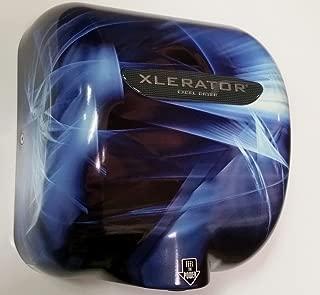 XLERATOR Excel Dryer Hand Dryer XL-BF Blue Fusion ProDryers Design, 110-120 Volt, 1500 Watts, 12.5 Amp