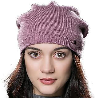 639e1c17ee29a URSFUR Chapeau/Bonnet/Etiquette Style Slouchy Chaud D'hiver Rayé Tressé en  Laine