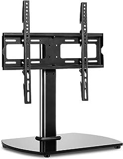 RFIVER Pied TV Universel Support TV sur Socle pour Télévisions de 27 à 55 Pouces LCD/LED/Plasma Pivotant et Hauteur Réglab...
