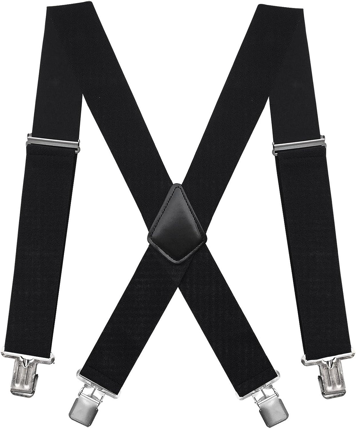 Fasker Mens Suspenders X-Back 2