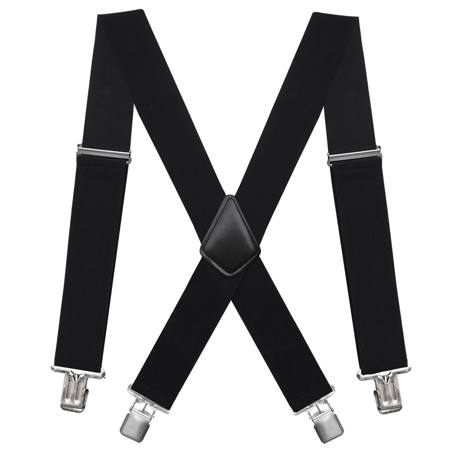 Fasker Suspenders X Back Adjustable Straight