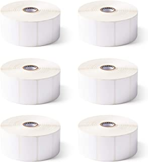 Zebra 2 x 1.25 in Thermal Transfer Polyester Labels Z-Ultimate 3000T Permanent Adhesive Shipping Labels 1 in Core 8 rolls ...