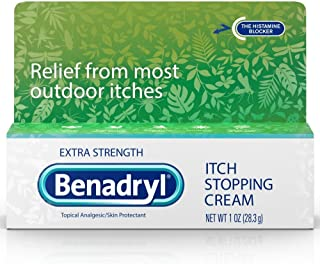 Benadryl Itch Stopping Cream Extra Strength 1 Ounce each, Pack of 4