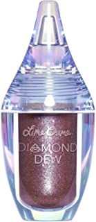 Lime Crime Diamond Dew Glitter Eyeshadow, Vision - Iridescent Mauve Lid Topper - Reflective Sparkle Shadow for Lids, Cheek...