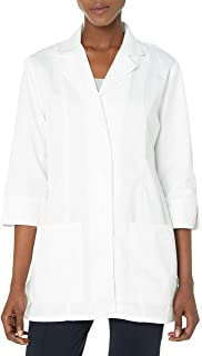 """Cherokee Women's Professional Whites with Certainty 30"""" 3/4 Sleeve Lab Coat"""